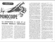 MODELLISMO AEREO La Scienza Illustrata 1950 Aeromodello VVC Monocoupe - DVD