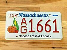 Massachusetts Choose Fresh & Local License Plate