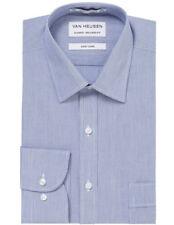 NEW Van Heusen STRIPE BUSINESS SHIRT BLUE