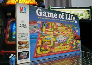 The Game Of Life - Milton Bradley - Board Game - 1978 Vintage Retro - Complete