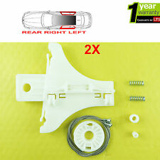 2X GOLF 4 ELECTRIC WINDOW REGULATOR REPAIR KIT REAR RIGHT AND LEFT SIDE
