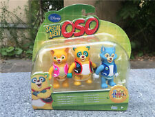 """Brand New Disney Special Agent OSO DOTTY WOLFIE 3PCS 3"""" Action Figure"""