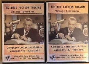 Science Fiction Theater - All 78 Episodes + BONUS - Sealed Makes A Great Gift