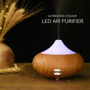 Electric Ultrasonic Essential Oil Diffuser LED Aroma Diffuser Steam Cool Mist