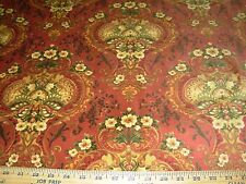 "~5 YDS~SWAVELLE/MILL CREEK~VELVET VICTORIAN ""RUSSET""~UPHOLSTERY FABRIC FOR LESS~"