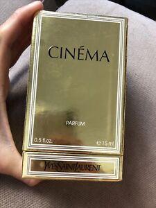 CINEMA by Yves Saint Laurent 15 ml/ 0.5 oz PARFUM Splash NIB