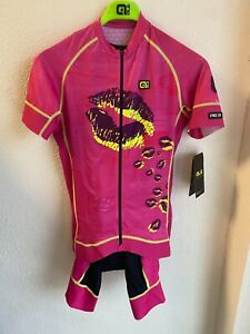 Alé Cycling PRR Romantic Jersey & Bibshort Kit - Pink - Women's Small