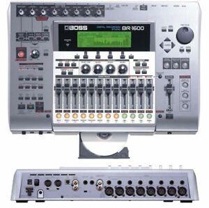 BOSS BR-1600 CD 16 MULTI TRACK DIGITAL USB HARD DRIVE RECORDING STUDIO 800 1200