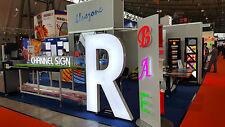 LED-Einzelbuchstaben, Leuchtbuchstaben, Frontleuchter, 400mm,Profil5