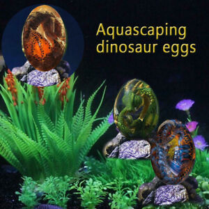 Dragon Egg-Resin Crystal Dream Transparent Desktop Ornament Art Collection Decor
