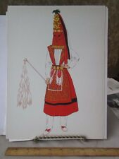 Vintage Print,BASQUE COUNTRY,Dancer Man,French Costumes,1939