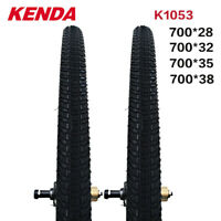 KENDA K1053 Bicycle Clincher Tire 700C*28/32/35/38mm Road Bike Tyre Superlight