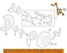 89542-74010 Toyota Sensor, speed, front rh 8954274010