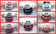 Hugmeez Soft Toys - Bling, Luv Ya, Big Kiss, You're Special, Sooo Cute, Cool....