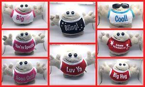 Hugmeez Soft Toys - Bling, Luv Ya, Big Kiss, You're Special, Sooo Cute, Cool....