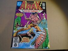 ARAK, SON OF THUNDER #1 DC Comics 1981 - FN/VF
