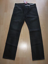 BNWT Tommy Hilfiger Designer Rogar W32 L36.5 Mens Jeans Tall Long Diamond BlacK
