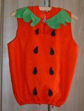 Faschingskostüm Erdbeere Gr. 104 3-5 Jahre