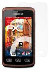 3x FX-Shock-Antireflex Schutzfolie Samsung Galaxy Xcover (GT-S5690) Panzerfolie