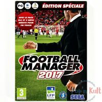 Jeu Football Manager 2017 - Edition Spéciale [VF] sur PC NEUF sous Blister