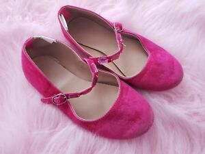 gymboree girls pink shoes flats size 12