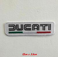 Ducati racing bike art badge Embroidered Iron or sew on Patch