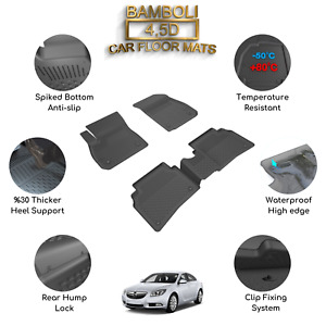 Premium 4,5D Car Floor Mat for Opel Insignia 2017+