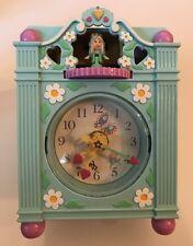 Vintage 1991 Bluebird Polly Pocket Fun Time Clock Playset One Figure Working