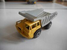 Majorette Benne Carriere Dump truck in Yellow/Grey