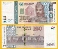 Tajikistan100 Somoni p-27b 2017 UNC Banknote