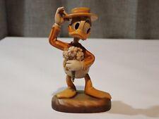 "Anri Disney Vintage Wood 4"" Donald Duck Limited Edition 965/5000"