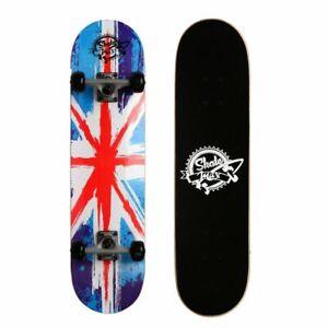 Skateboard Professionale Completo con Ruote BANDIERA AUSTRALIANA Sport Estremi