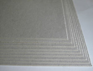 10 x A5 Greyboard Craft Card 2000mic 2mm Grey Board