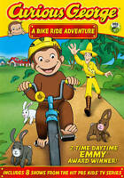 New Sealed Curious George A Bike Ride Adventure DVD 90 Minutes, 8 Shows