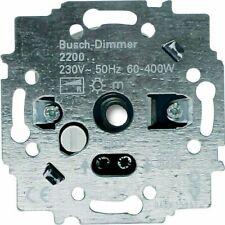Busch Jaeger Dimmer 2200 Drehdimmer Dimmereinsatz 60-400W  E4-2