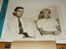 Rare Historical Original VTG Nanette Wallace, Wiley C Lockamy Will Marry Photo