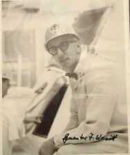 Guenter Wendt Signed Photo & Letter Apollo Pad Leader Engineer Autograph Coa