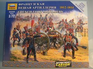 Zvezda 1:72 Nr. 6810 French Foot Artillery Französische Fuß Artillerie Napoleon