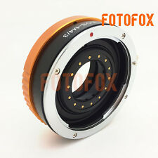 EOS-M43 Canon EF Mount Lens to Micro 4/3 M43 Adapter Adjustable Aperture