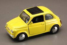 NewRay FIAT 500 F/500f amarillo modelo / Año fabricación 1957 , 1 :3 2