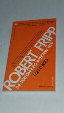 ROBERT FRIPP:THE BOFFOMUNDO INTERVIEW 1979 (SIGNED RON CURTISS) KING CRIMSON