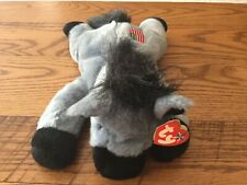 Ty Beanie Buddy- Lefty The Donkey - Hang Tag Included