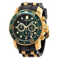 Invicta Pro Diver Chronograph Green Dial Men's Watch 17883