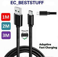 3/6/10Ft Micro USB 3.0 Fast Charger Data Sync Cable Cord Samsung Android HTC LG