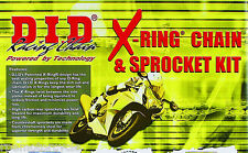 HONDA CBR600RR 2003-06 525 16/43t DID X-Ring CHAIN AND SPROCKET KIT .