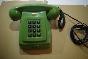 Vintage retro CB76MM Black push button Phone 1982