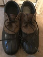 LL Bean Shoes Low Duck Boots Brown Women Size 8 Vintage