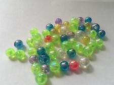Round Iridescent Beads (Pack 50)