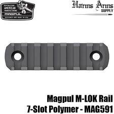 Magpul M-LOK 7-slot Picatinny Rail Section Polymer MLOK for Handguard etc MAG591