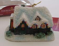 Kurt S Adler Silent Night Thomas Kinkade House Cottage 1992 Christmas Ornament